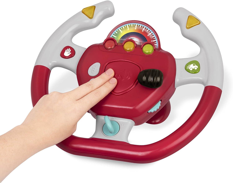 Amazon.com: Battat - Rueda de conducción interactiva Geared ...