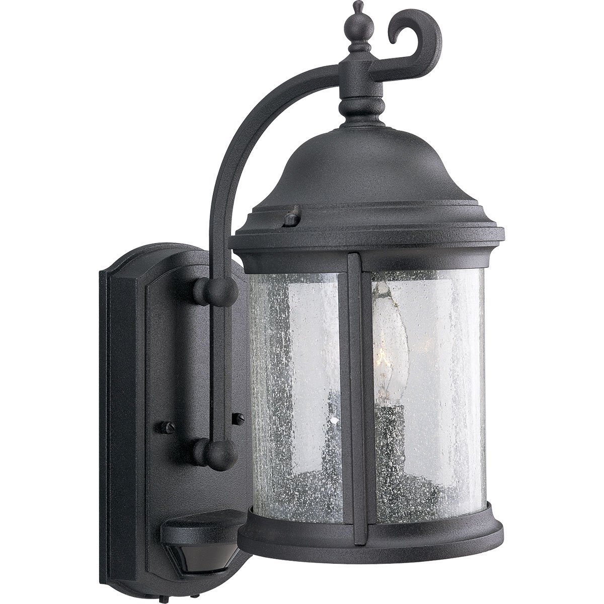 Progress lighting p5854 31 2 light ashmore collection wall lantern progress lighting p5854 31 2 light ashmore collection wall lantern with motion sensor textured black wall porch lights amazon aloadofball Choice Image