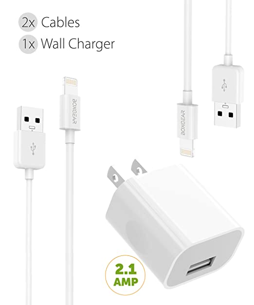 iPhone cargador Kit de cable Lightning de Apple por boxgear ...