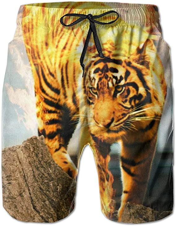 YongColer Mens Short Swim Trunks Best Board Shorts for Beach Holiday Party Swim