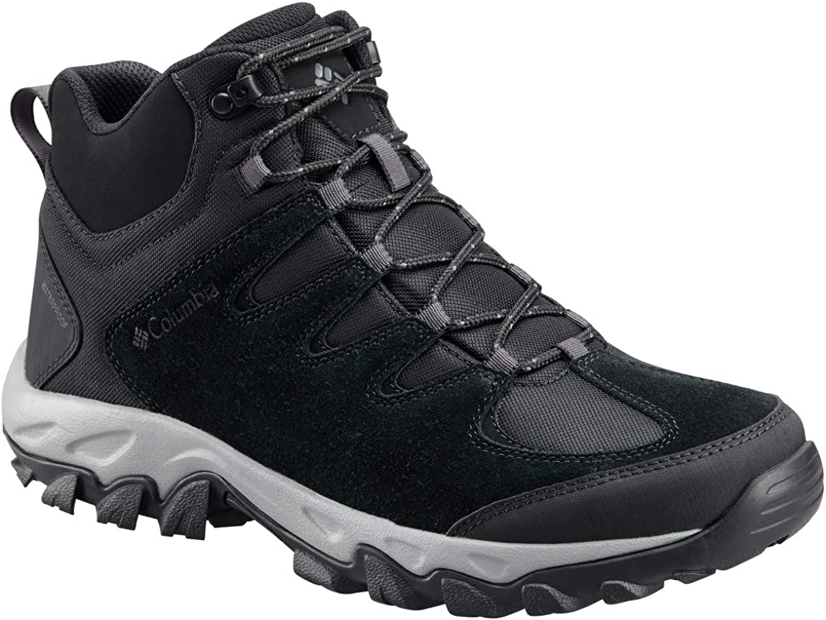 Columbia Men s Buxton Peak Mid Waterproof, Breathable, High-Traction Grip