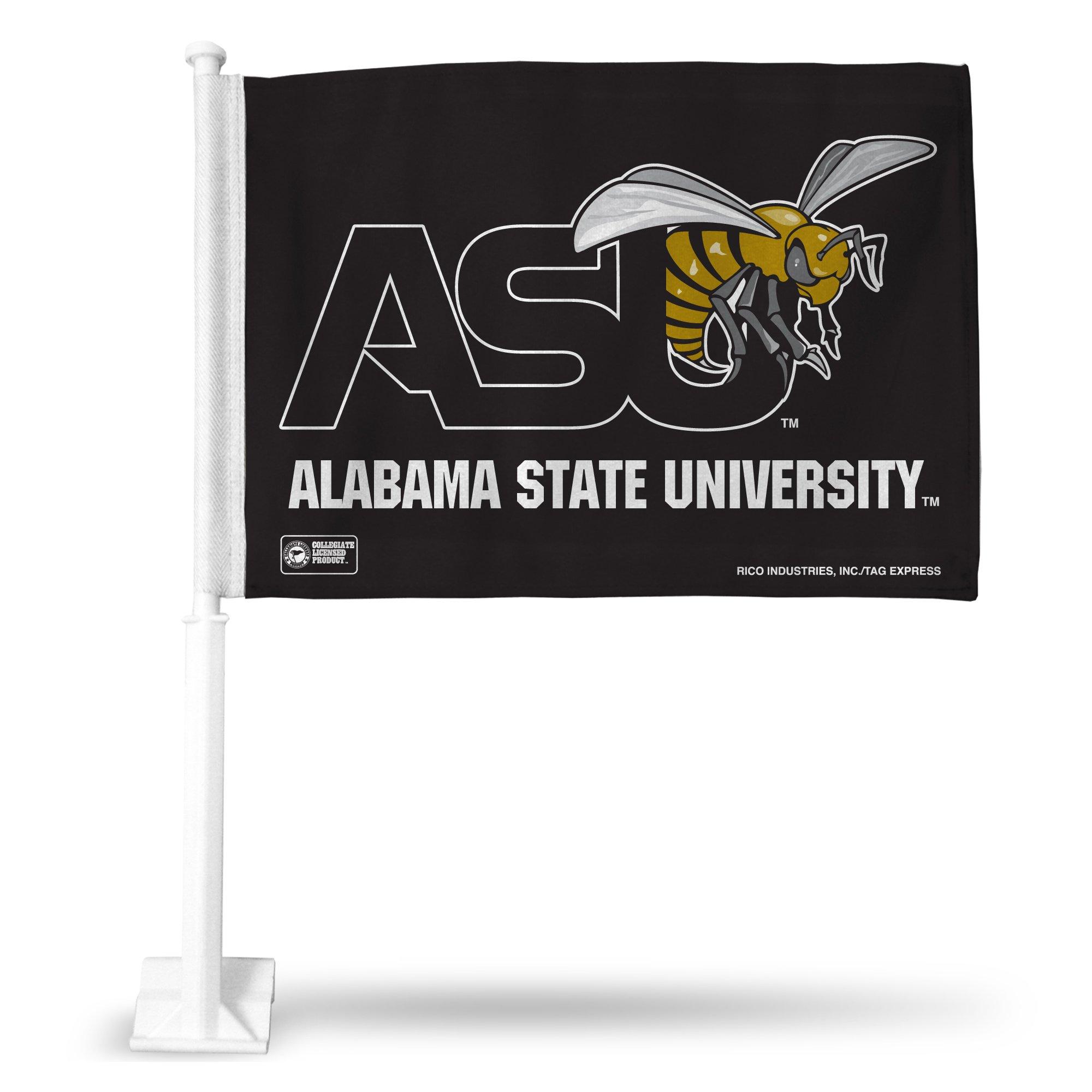 Rico Industries NCAA Alabama State Hornets Car Flag