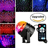 blingco Mini LED Luce rotazione automatica Stage 3 W rgb sprachak tiviertes cristallo Magic Ball Stage Light con controller per DJ Disco Ball Saal KTV Stab Stadium Club Party