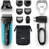 Braun Series 3 Shave & Style 3010BT 3-in-1 Electric Shaver/Razor with Precision Beard - Wet & Dry