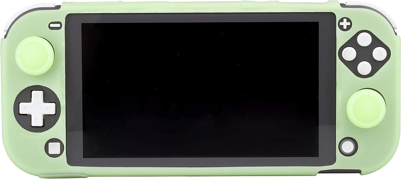 FR-TEC - Switch Lite Funda Silicona + Grips Fosforescente ...