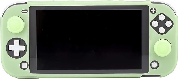 FR-TEC - Switch Lite Funda Silicona + Grips Fosforescente (Nintendo Switch): Amazon.es: Videojuegos