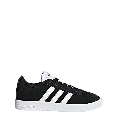 new concept d2539 e46fa adidas Kids VL Court 2.0, Core BlackWhiteCore Black, 1