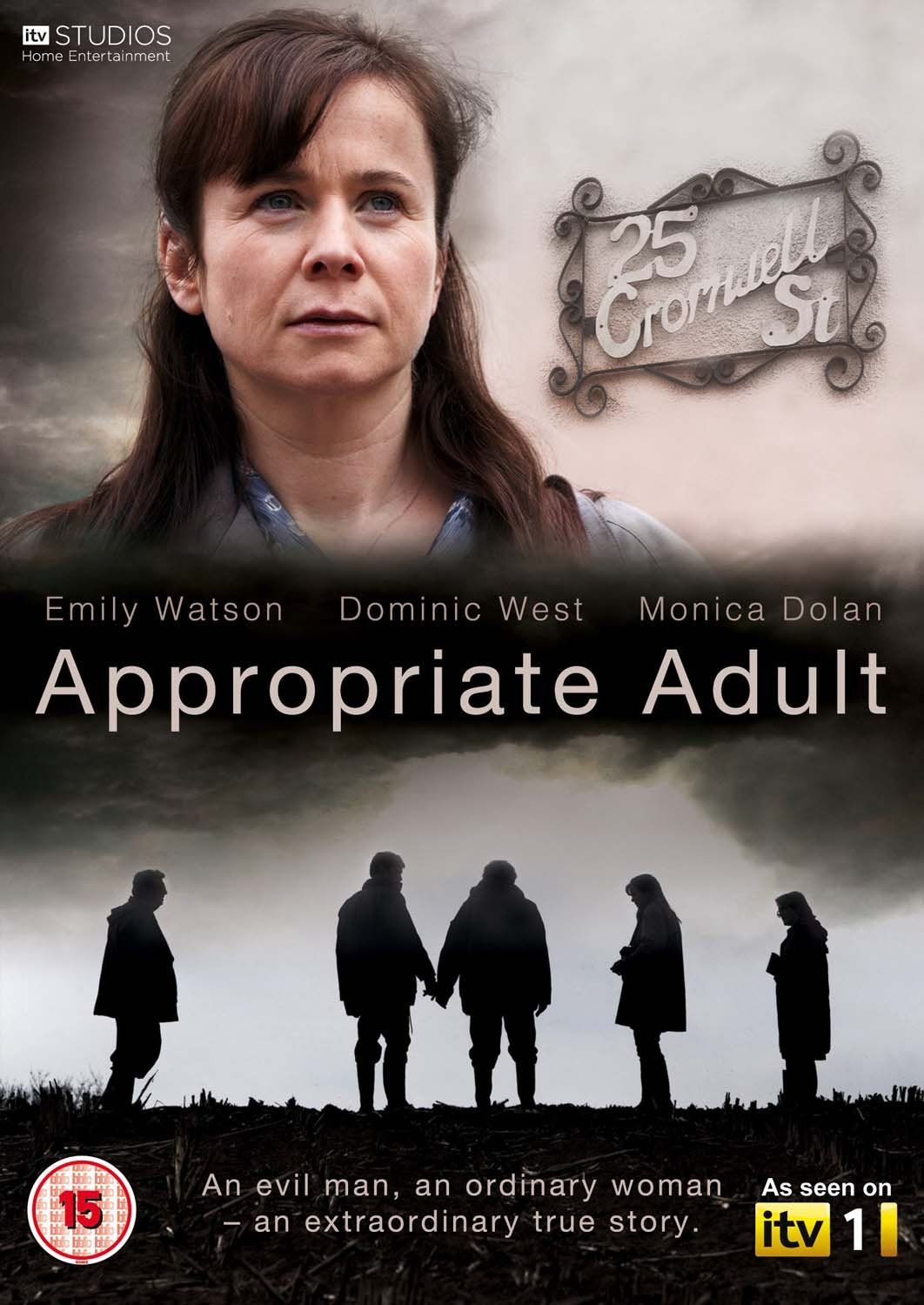 Appropriate Adult [DVD] [2011]: Amazon.co.uk: Dominic West, Emily Watson,  Monica Dolan, Robert Glenister, Sylvestra Le Touzel: DVD & Blu-ray