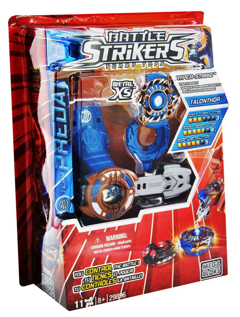 Mega Bloks: Metal XS2 Battle Strikers Team Predator - Talonthor: Starter Pack: Amazon.es: Juguetes y juegos