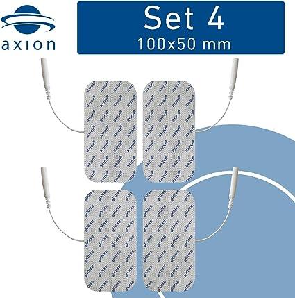 8 électrodes EMS TENS électrostimulation musculation 40 x 40 mm Fiches 2mm