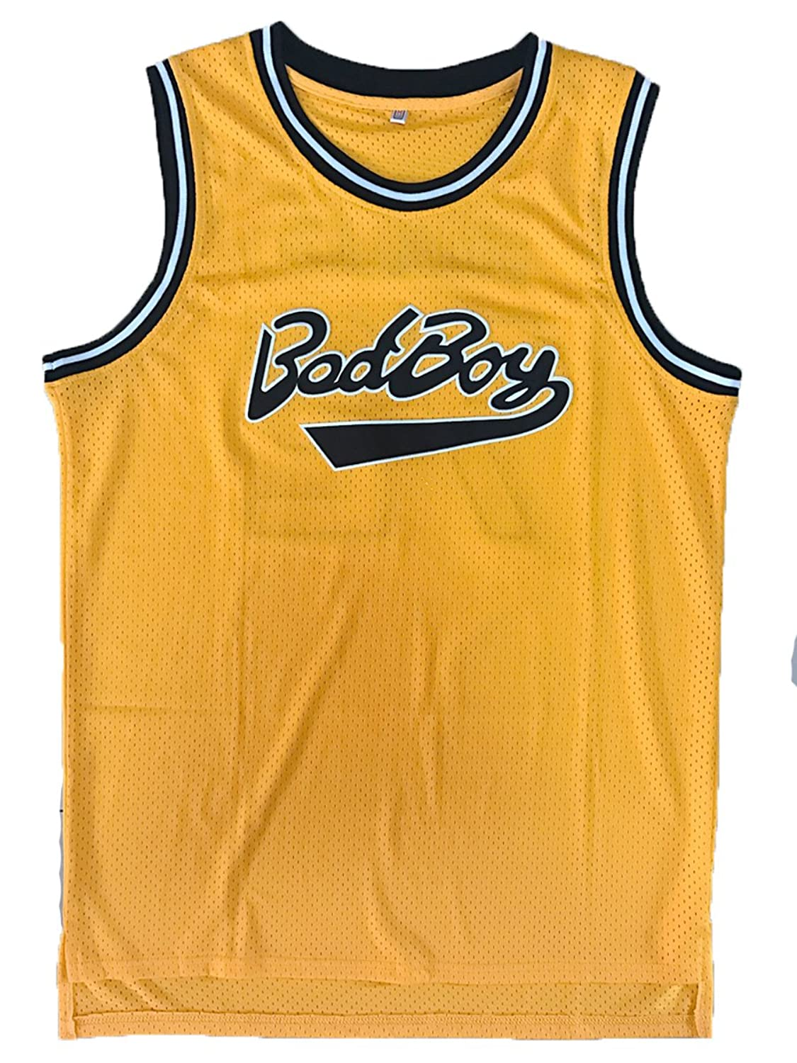 Amazon.com: Biggie Smalls #72 Bad Boy Basketball Jersey Notorious B.I.G. Juicy Video Costume: Clothing