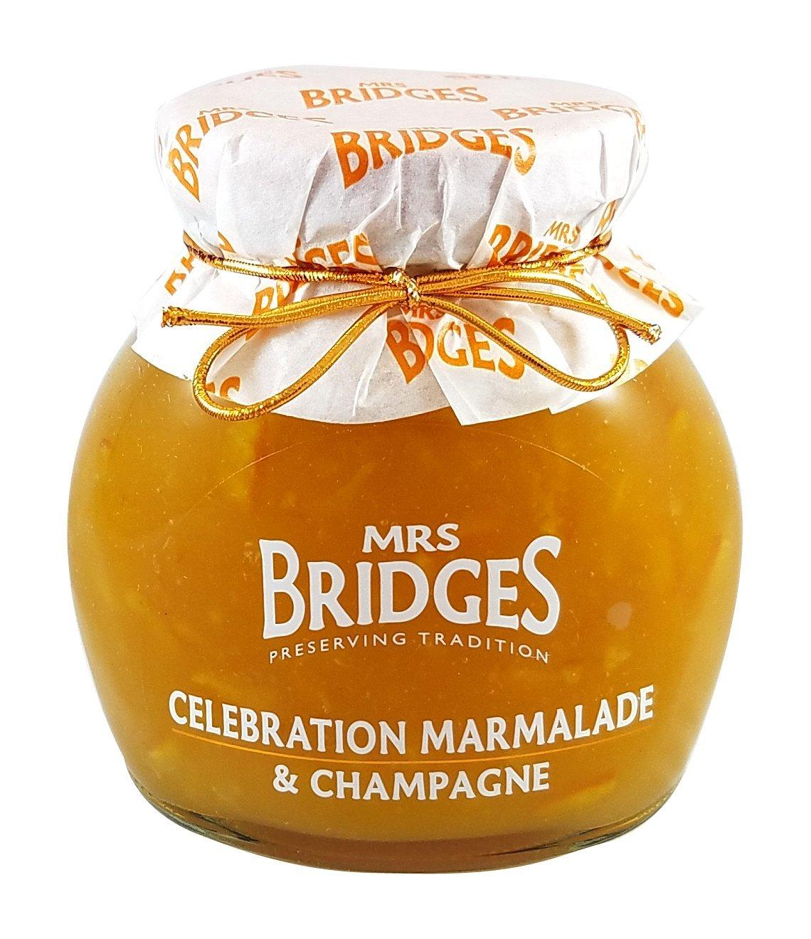 Mrs Bridges Celebration Marmalade with Champagne, 12 Ounce
