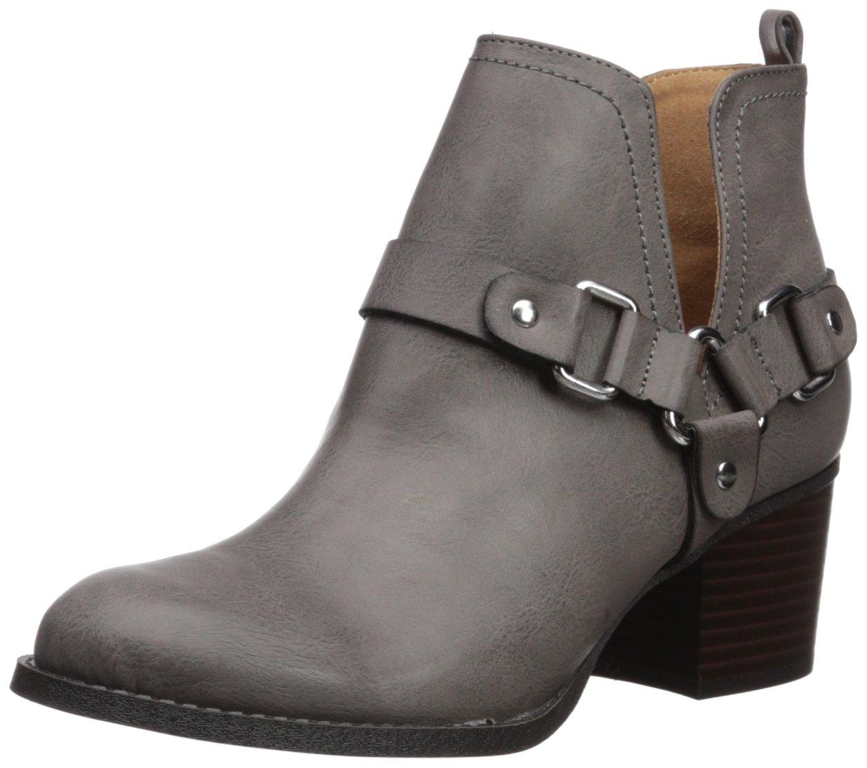 Madden Girl Women's Finian Ankle Boot B074ZBNPS9 8 B(M) US|Dark Grey