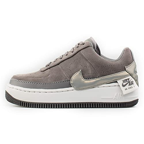 Nike Damen Sneakers Schuhe AIR Force 1 Jester XX aus grauem
