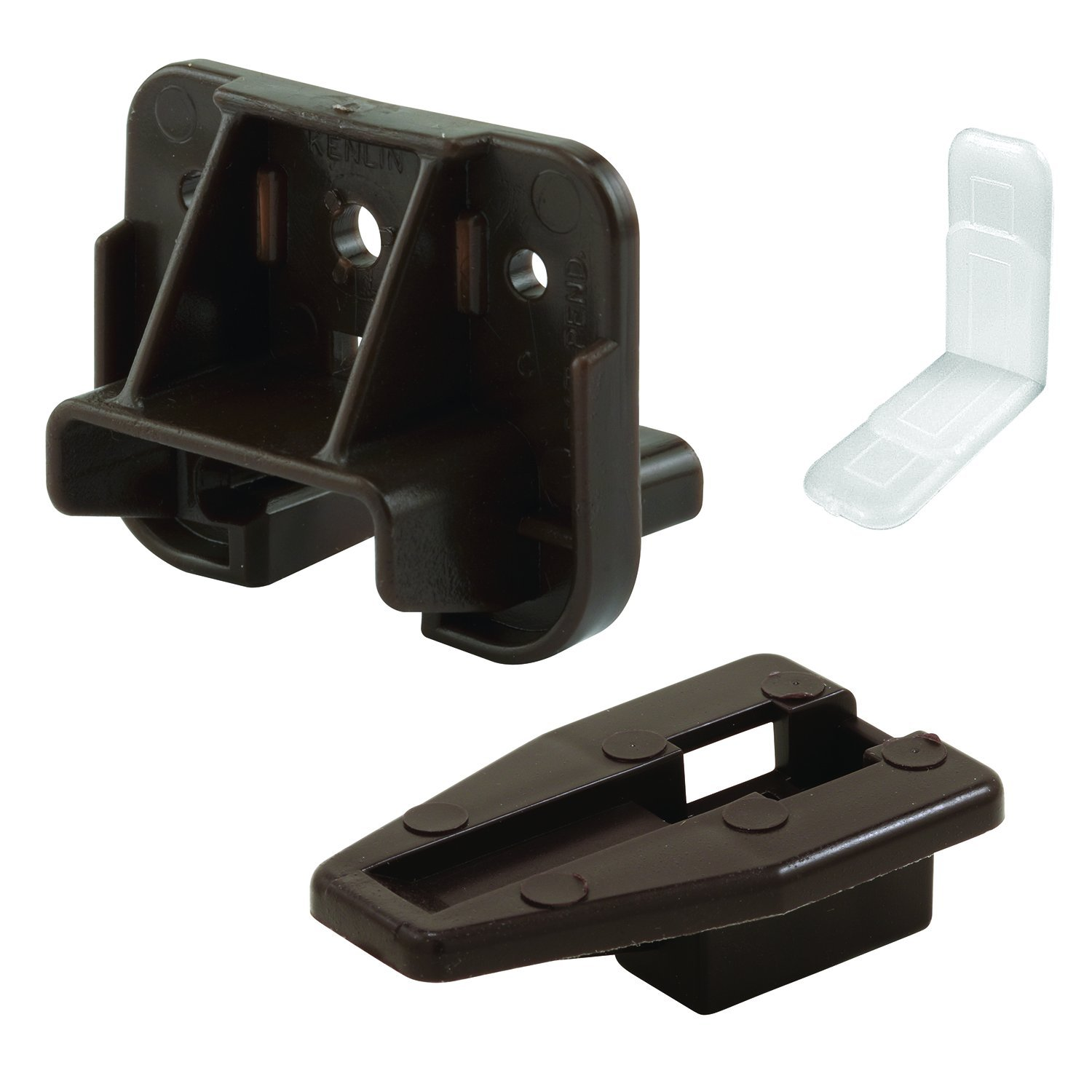 Slide-Co 223887 Drawer Track Guide and Glides – Replacement Furniture Parts for Dressers, Hutches and Night Stand Drawer Systems (Pack of 2)