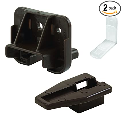 Replacement Drawer Slides >> Slide Co 223887 Drawer Track Guide And Glides Replacement Furniture Parts For Dressers Hutches And Night Stand Drawer Systems Pack Of 2