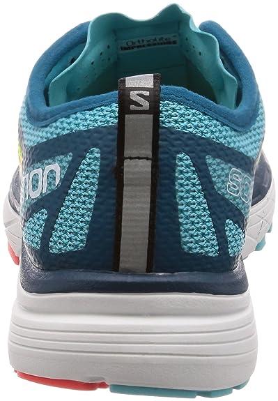 Salomon Sonic RA Women's Shoes Blue CuracaoYellow