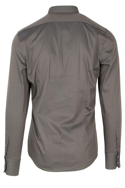 Antony Morato Mens Long Sleeve Shirt MMSL00375-FA450001 Slim Color