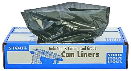 Stout total el contenido reciclado bolsas de basura, 65 ...