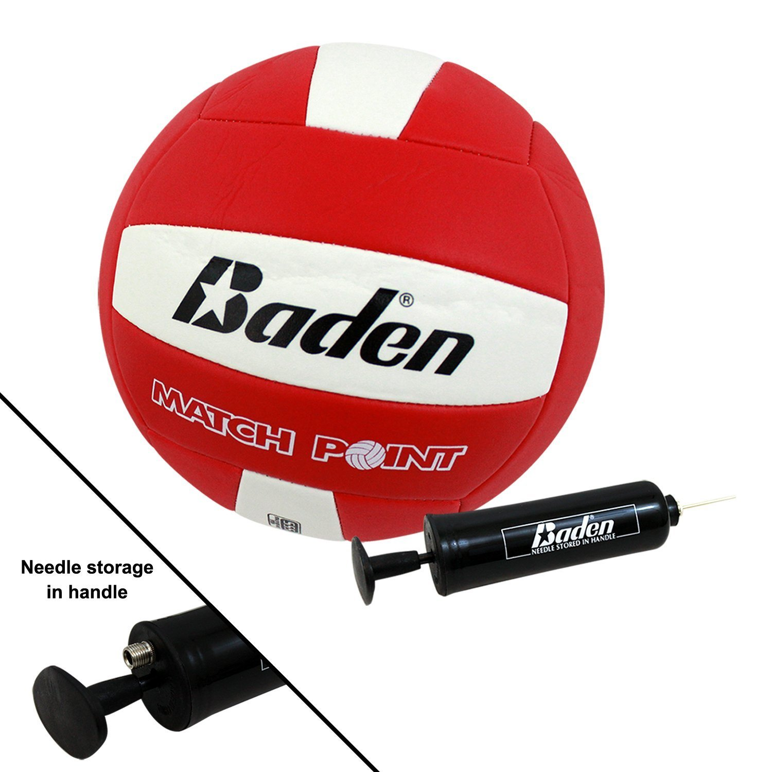 Bundle Includes 3 Items - Baden Champions Volleyball Badminton Set, Flickin' Chicken and Champion Sports Wooden Ring Toss Game by Baden, Champion Sports & Haywire Group (Image #7)