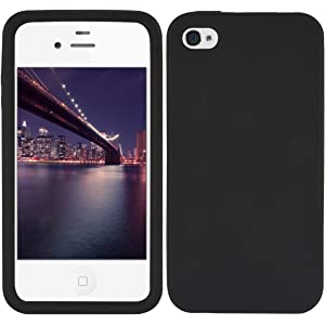 87df9d71c50 kwmobile Funda compatible con Apple iPhone 4 / 4S - Carcasa de [TPU silicona ]