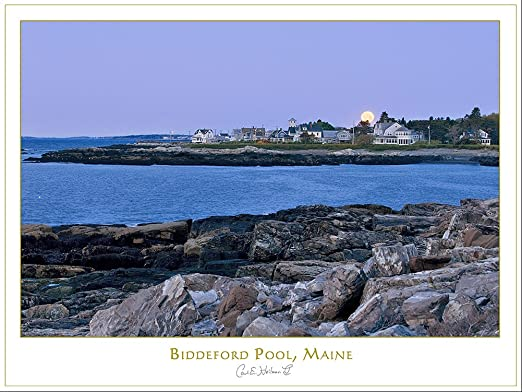 Amazon Com Maine Coast Print Biddeford Pool By Carl Heilman Ii 18 X 24 Na013019 Posters Prints