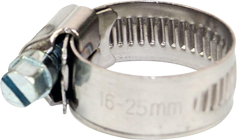 Schlauchschellen Schlauchklemme Edelstahl VA W4 Schlauchbinder 12mm 25-40mm 50 St/ück