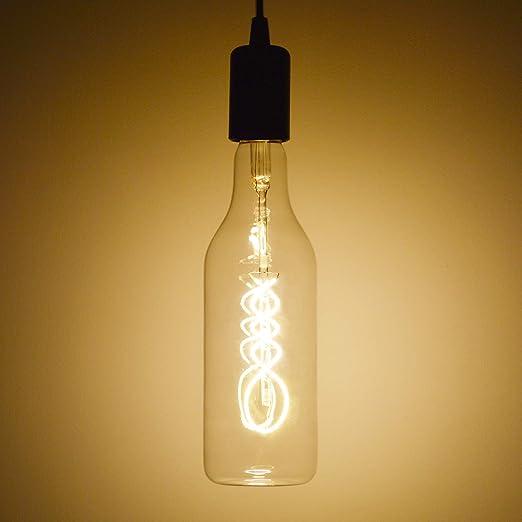 Bombilla LED decorativa, estilo vintage, con forma de ...