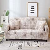 Wifehelper Material de Spandex Lavable a máquina, Resistente al Agua, Protector de Muebles, Funda de sofá, Funda de sofá…