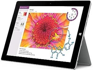 Microsoft Surface Pro 3 Tablet (12-Inch, 128 GB, Intel Core i3, Windows 10) (Renewed)