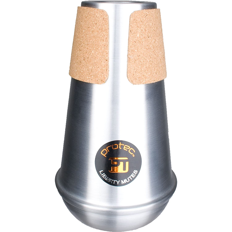 Protec Compact Practice Aluminum Bass Trombone Liberty Mute ML205
