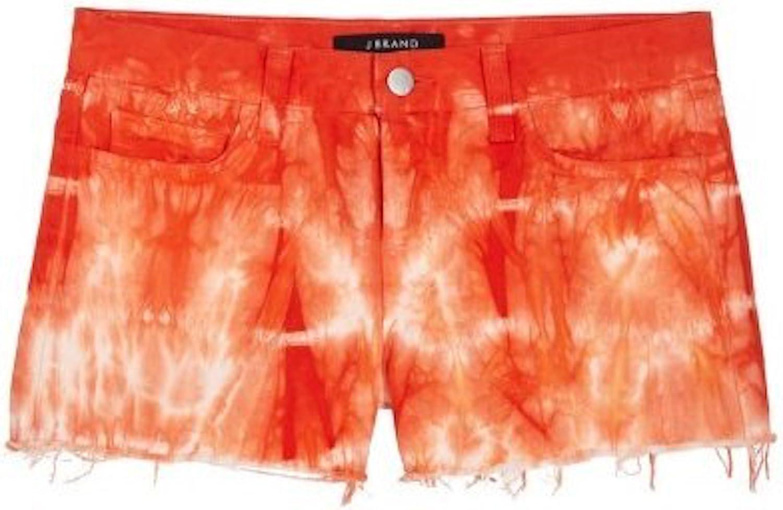 Tie dye cut off shorts
