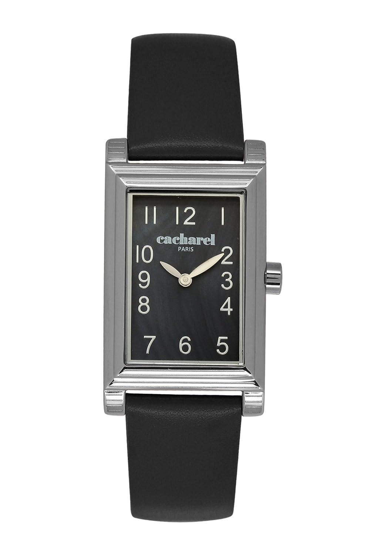 Cacharel Damen-Armbanduhr Analog Quarz Leder CLD 007-AA