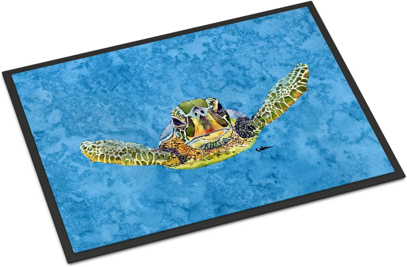 Caroline s Treasures 8653JMAT Turtle Indoor or Outdoor Mat 24×36 Doormat, 24H X 36W, Multicolor