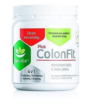 COLONFIT PLUS para Alivió de Gases Intestinales y Hinchazón con Enzymas Digestivas, Probióticos, Prebióticos y Fibra | Ayuda Hemorroides, ...