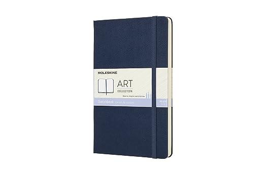 Moleskine Kreativ-Notizbücher, Skizzenbuch Large/A5, Hardcover, Saphir