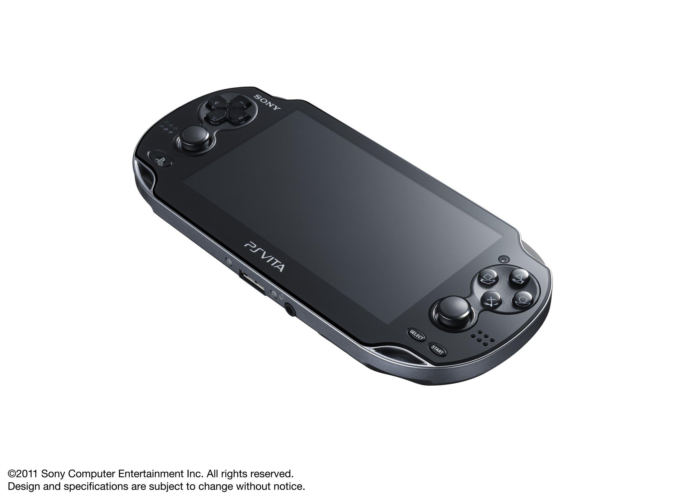 PlayStation Vita 3G/Wi-Fi Model Crystal Black Limited edition (PCH-1100AB01) by Sony (Image #2)