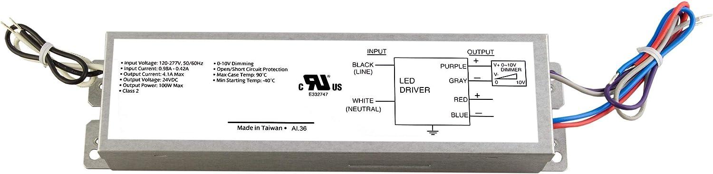 Diode LED 12V DC 0-10V Dimmable Driver 60W