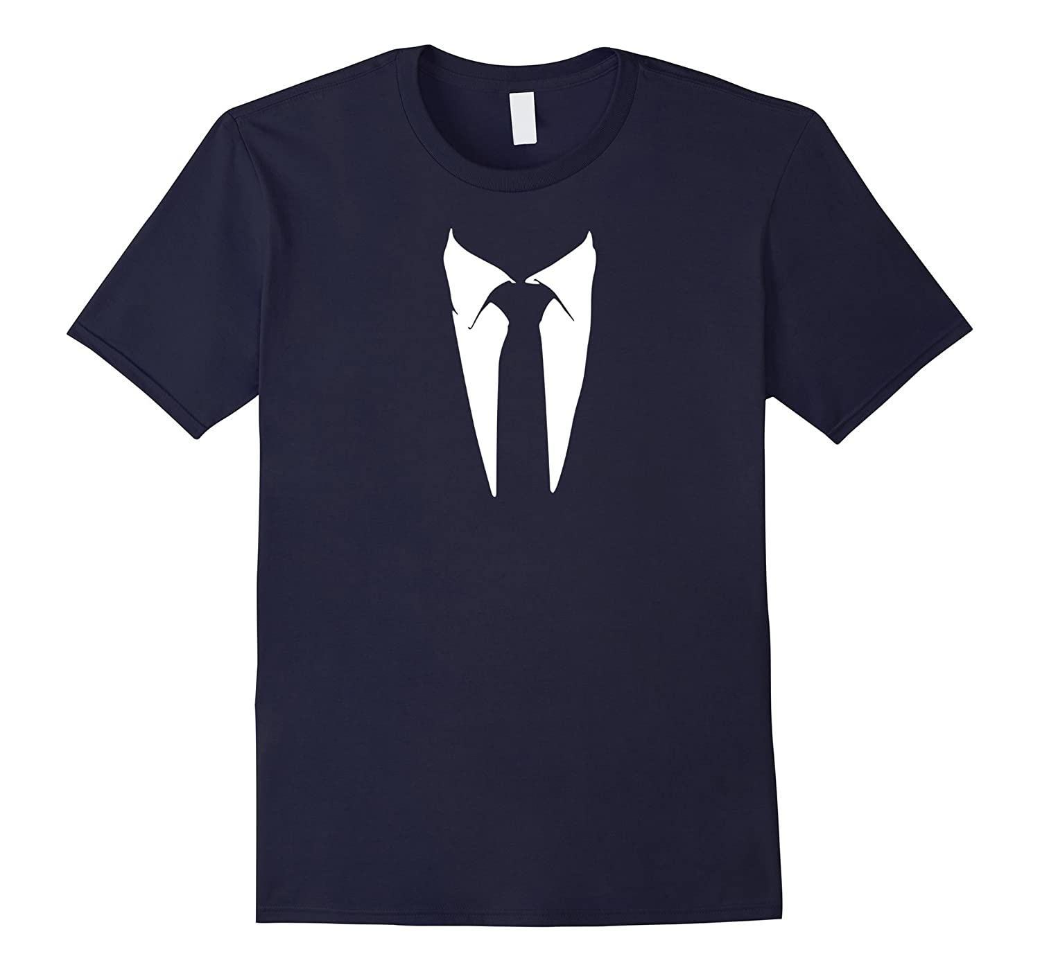Tuxedo T-Shirt - Printed Suit & Tie Funny Business Shirt-BN
