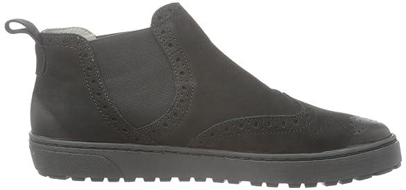 meanfeet - Zapatos de cordones de Piel para mujer negro negro, color negro, talla 36.5