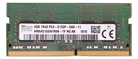 SK Hynix 4GB RAM 1Rx8 PC4-17000 DDR4-2133 1.2 Volts CL15 260 Pin Sodimm Flash Memory p/n Memory at amazon