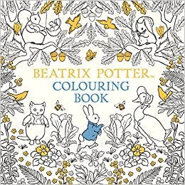 the beatrix potter colouring book amazoncouk beatrix potter 9780241287545 books
