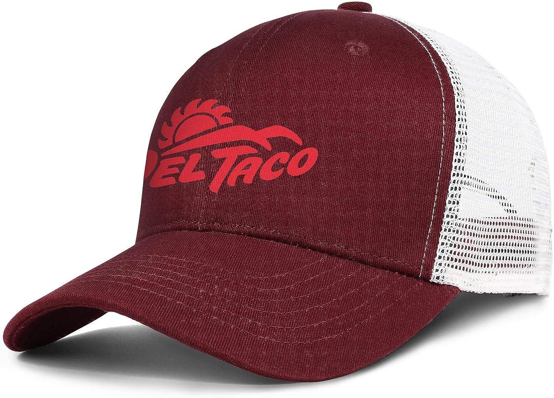 WintyHC Del Taco Cowboy Hat Trucker Hat Adjustable Fits Baseball Cap