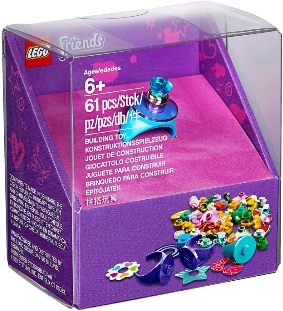 LEGO Creative Rings - Create Cool Rings for All Your Friends!: Amazon.es: Juguetes y juegos