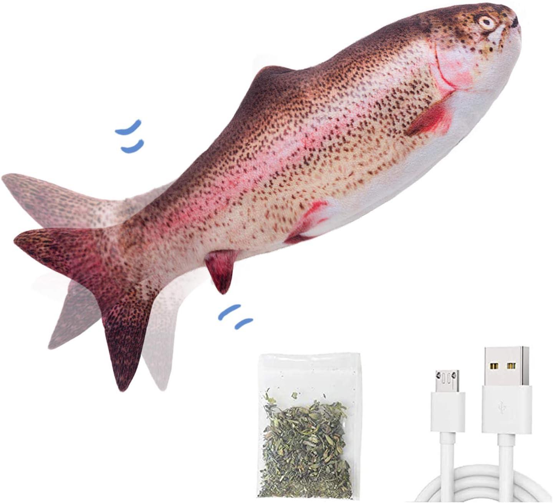 """Potaroma 10.5"""" Electric Flopping Fish $12.49 Coupon"""