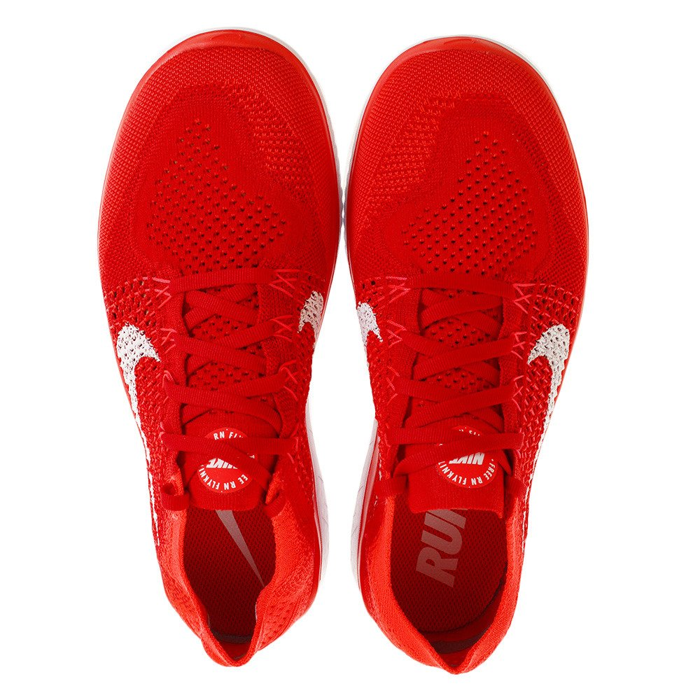 official photos 602a9 55f73 Amazon.com   Nike Free RN Flyknit 2018 942838 601 University Red White  Men s Running Shoes (11)   Road Running