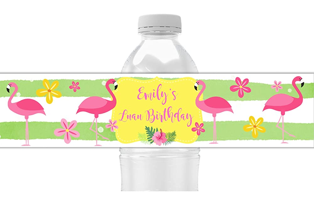 Self Adhesive Wedding Water Bottle Labels Custom Water Bottle Labels Party Decor WBL2P Waterproof Bottle Labels Personalized Labels