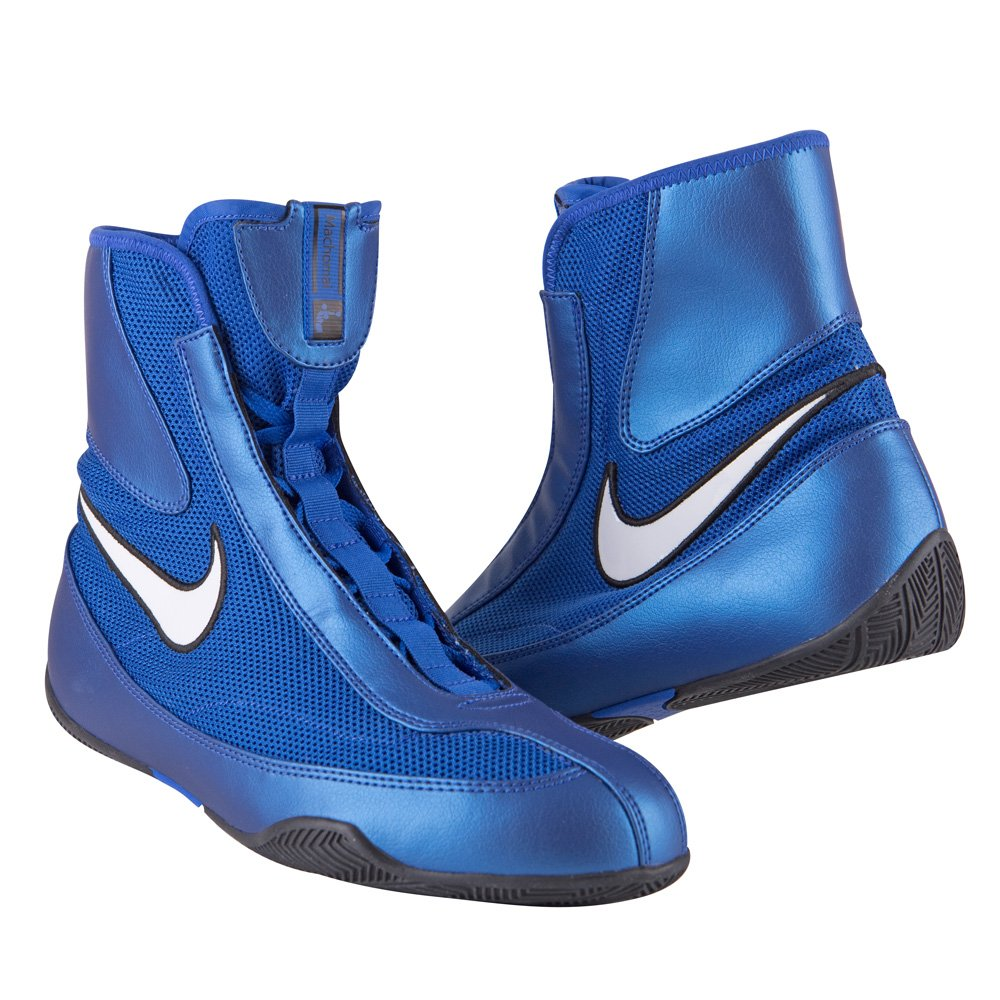 277a60b198fce Amazon.com: Nike Machomai Boxing Shoes - Blue - Size 10: Shoes