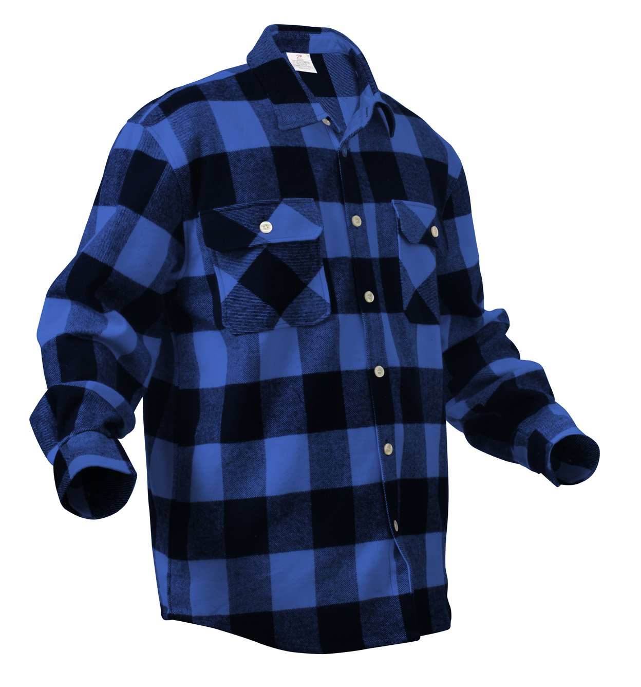 Amazon.com: Rothco Heavy Weight Plaid Flannel Shirt: Sports & Outdoors
