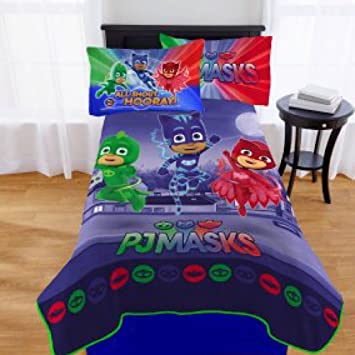 Nickelodeon PJ Masks Kids Bedding Plush Blanket